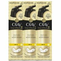 3 Olay Total Effects Featherweight Moisturise 7-In-1 SPF15 AntiAgeing Cream 50ml