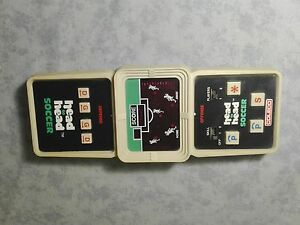 COLECO-HEAD-TO-HEAD-SOCCER-CONSOLE-GAME-amp-WATCH-HANDHELD-LCD-SCREEN-ELECTRONIC