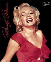 Marilyn Monroe Hollywood Star Legend Red Dress 79 X 95 Queen Size Blanket