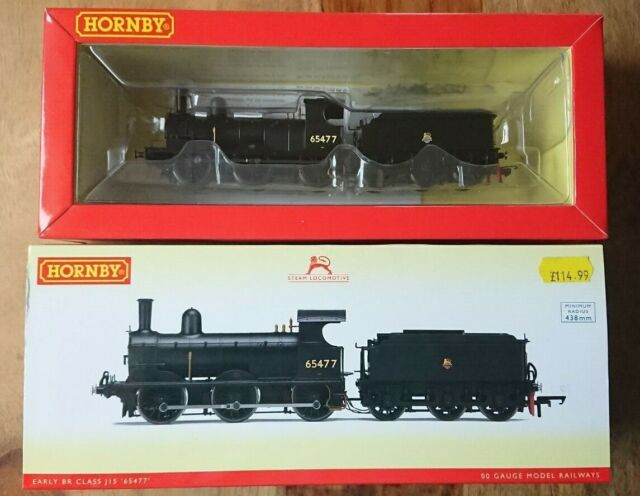 """Hornby R3415 Early BR Class J15 Locomotive No.""""65477"""" DCC READY NEW"""