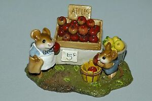 Wee-Forest-Folk-ADAM-039-S-APPLE-WFF-M187-Retired