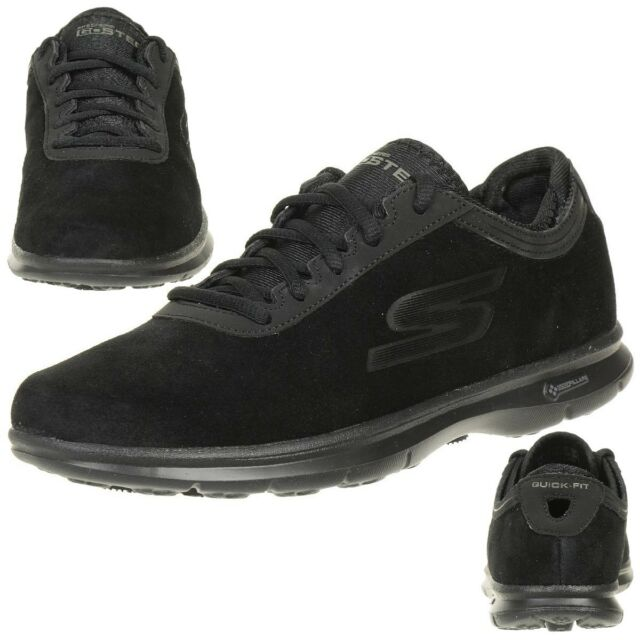 Goga Step Shoes Inception Ladies Foam Matt Black Go Leather Skechers xfaWvq5XnF