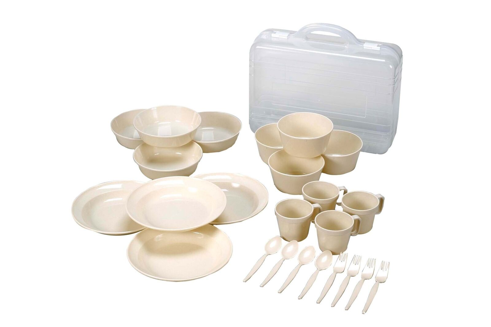 Captain Stag Camping dishware set Regular Time M-1201 From Japan