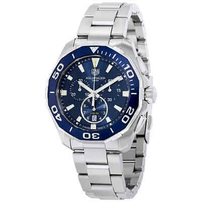 Tag Heuer Aquaracer Chronograph Blue Dial Men's Watch CAY111B.BA0927