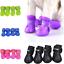 Pet-Chaussons-Caoutchouc-Chien-Impermeable-Anti-derapant-Bottes-de-pluie-pour-petits-Big-Dog miniature 1