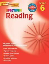 Spectrum: Reading, Grade 6 by Spectrum Staff and Carson-Dellosa Publishing Staff (2006, Paperback)