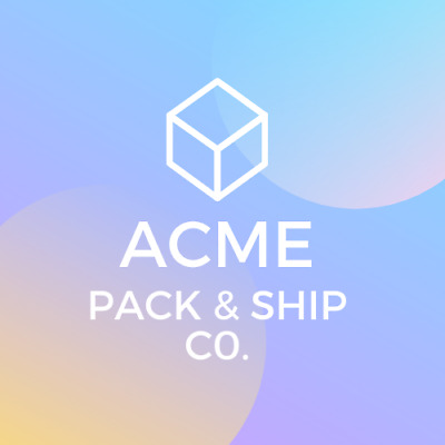 Acme Pack and Ship