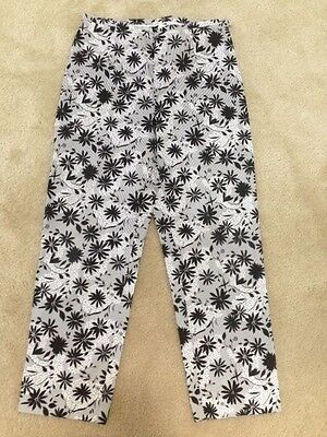 Willi Smith Stretch Casual Pants,size 10 Women's Clothing 97%cotton And 3% Spandex