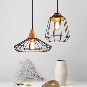 Kitchen-Pendant-Light-Home-Lamp-Black-Ceiling-Lights-Vintage-Chandelier-Lighting