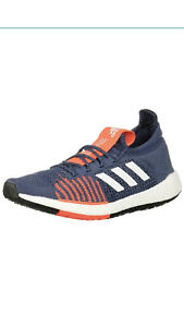 Adidas-Men-s-Pulseboost-HD-M-Running-Shoes-Tech-Ink-Navy-Grey-Size-10-5