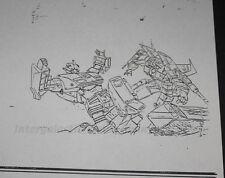 1986 Takara Transformers TV Magazine Internal Art Copy Sideswipe Starscream