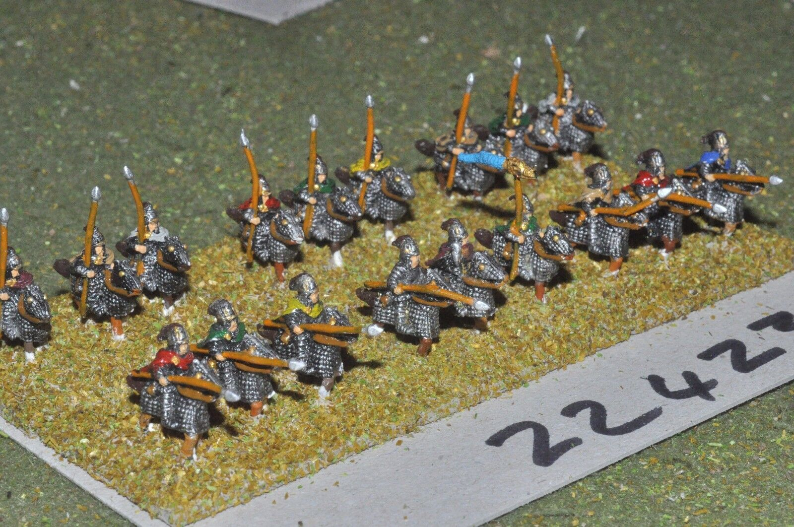 10mm Roman era   roman - cataphracts 18 figs - inf (22423)