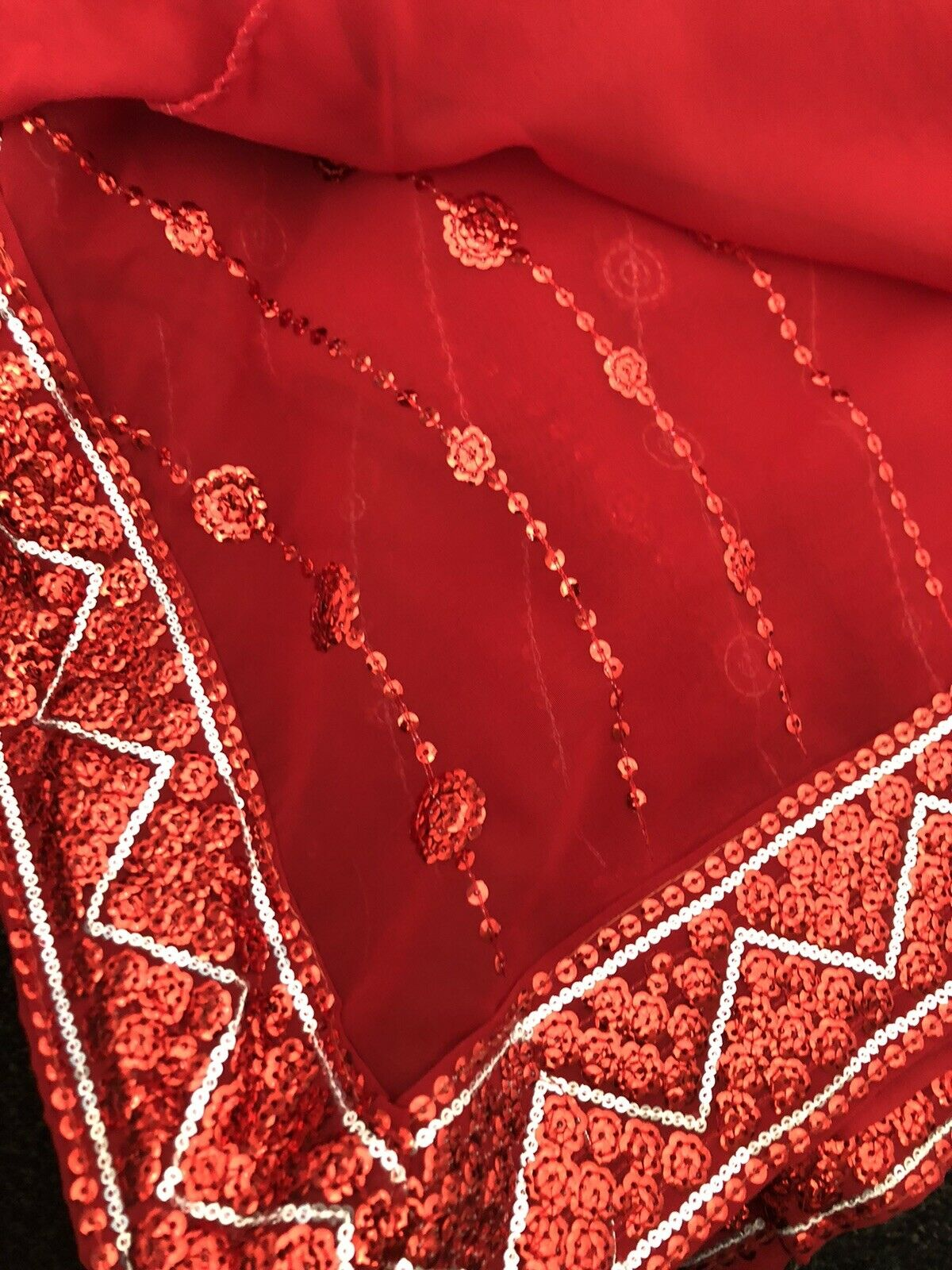 Sarees Various Ready Blouse Large Size 16 Red Blue Magenta Worn Once Or Twice