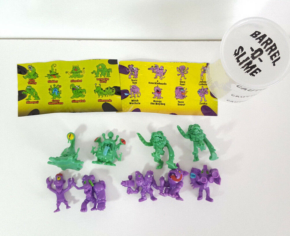 Lot of 9 Blip Toys Slimey Sludge 1.25