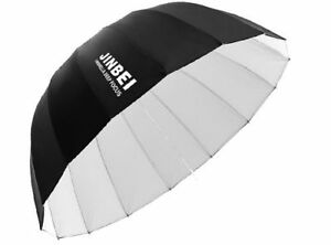 Jinbei Φ105 cm 16 Rods Parabolic Deep Umbrella Soft Reflector Black/White