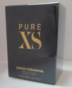 584012d3b2 Paco Rabanne Pure XS EDT 100ml 3.4oz Eau de Toilette Men 100 ...