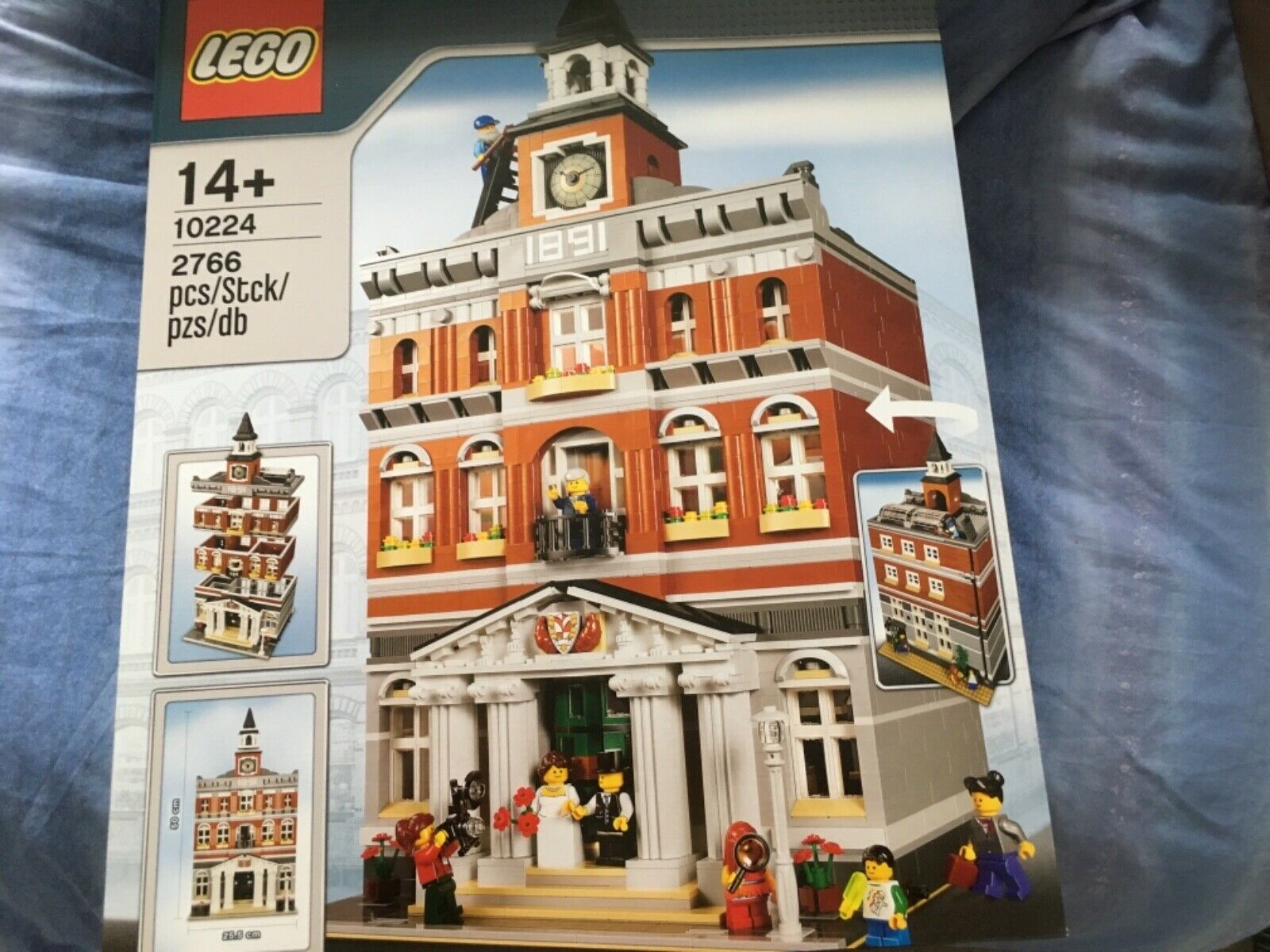 Lego Modular Buildings - Pet Shop (10218) + Town Hall (10224) - Brand New Sealed