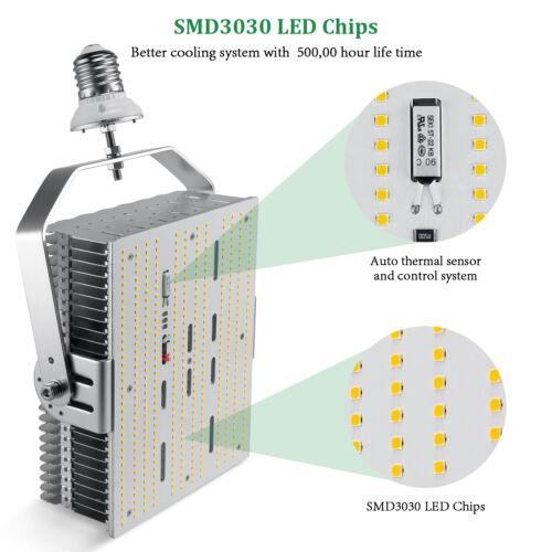 DLC ETL 300Watt LED retrofit kits replace 1500W HPS gymnasium stadium playground