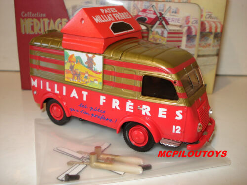 CORGI COLLECTION HERITAGE EX70537 RENAULT 1000KG PATES MILLIAT FRERES  au 1//43°