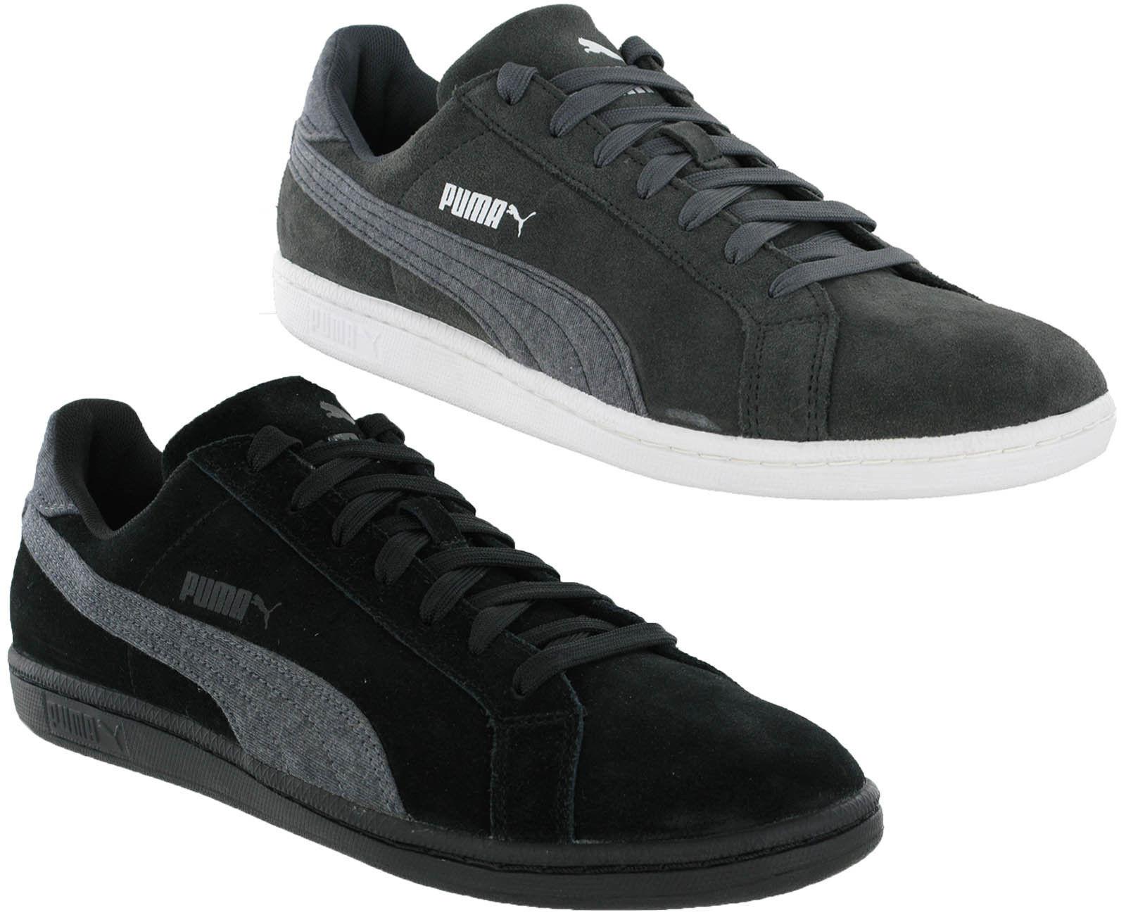 Puma Suede Classic Smash Jersey pelle shoes Sportive men grey, black