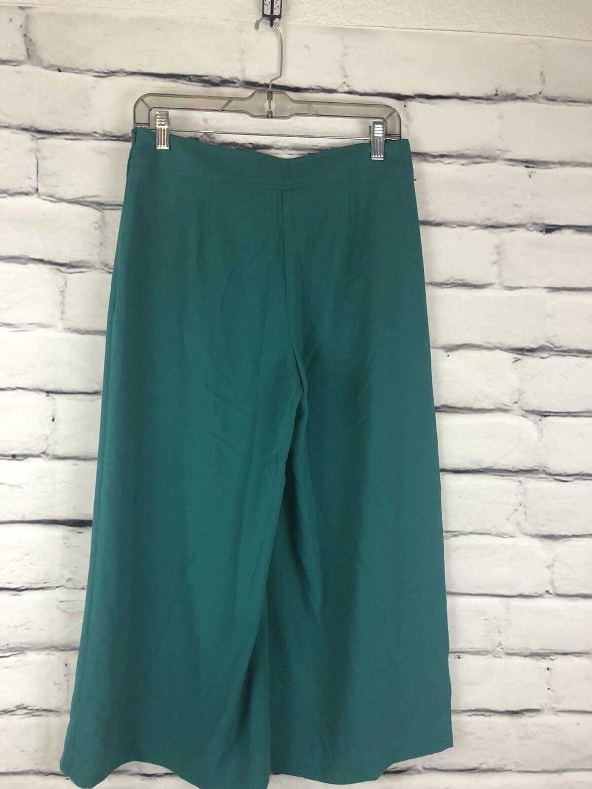 Trina Turk Womens Teal Size 12 Gaucho Pants  - image 2