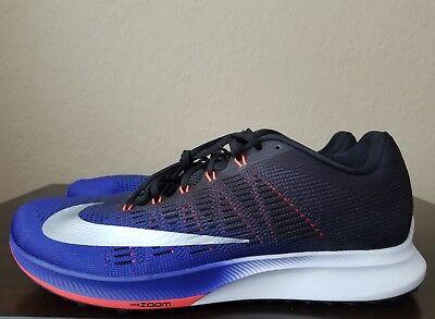Nike Air Zoom Elite 9 863769 405 ConcordSilverBlack Men's Running Shoes Sz 13 | eBay