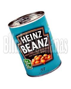 Heinz Baked Beans Masquer Garder L'argent Réel Safe Fake Faux Tin Can Sécurité Caisse-afficher Le Titre D'origine