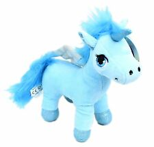 Glitter Plush Soft Toy Unicorn ~ Blue