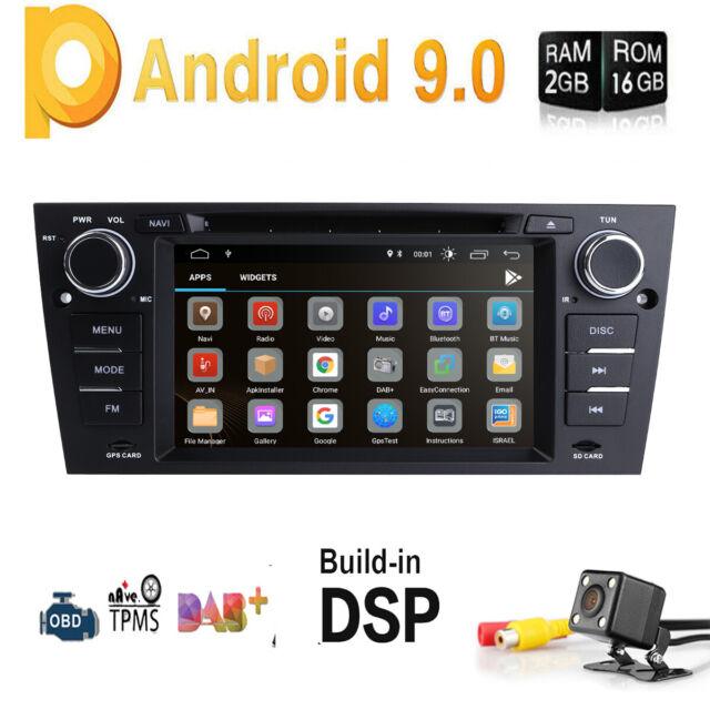 For BMW E90-E93 GA7165S Android 9 0 2GB Radio Car DVD GPS Player Stereo BT  4G E