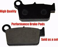Yamaha Wr250r Rear Brake Pads Racing Pro Factory Braking 2008-2011 on sale