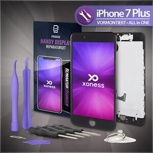 Ersatz-LCD-iPhone-7-PLUS-Display-Schwarz-KOMPLETT-VORMONTIERT-Retina-Bildschirm