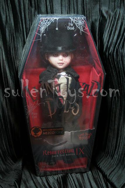Living Dead Dolls Resurrection Jack the Ripper Res Series 9 NEW LDD sullenToys