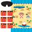 Parti Pirate Anniversaire Gamme-Vaisselle Ballons Bannières Décorations Fournitures