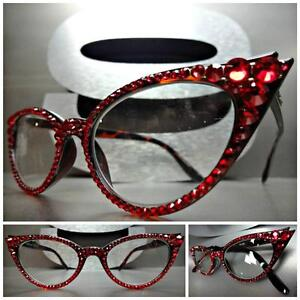 95ab472bb97 Women s VINTAGE CAT EYE Style READING EYE GLASSES READERS Red ...