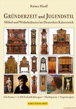 Fachbuch Gründerzeit und Jugendstil Möbel & Wohnkultur im Deutschen Kaiserreich