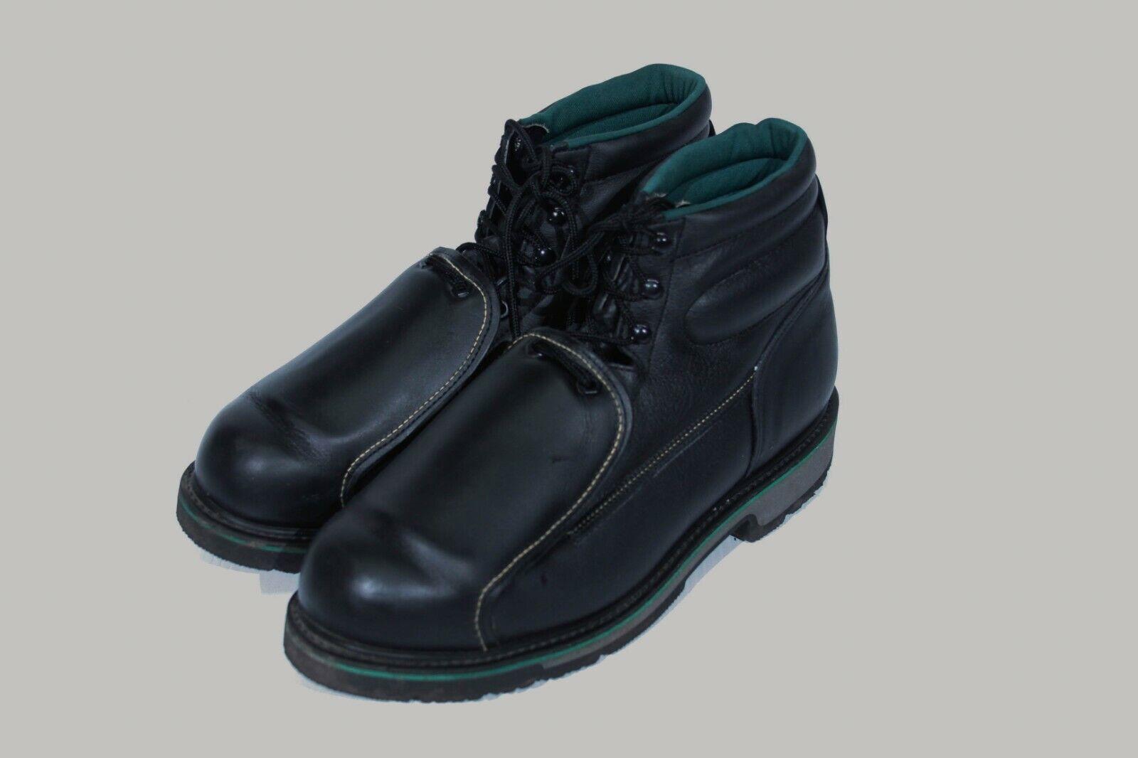 trabajo  Aceite de Hombre, Slip, Shock Resistant botas de trabajo nos F 10 Made In Usa.