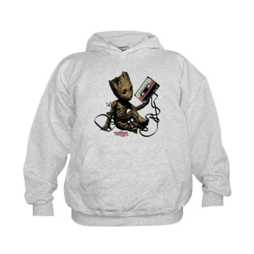 Classic Hoodie CafePress GOTG Groot Cassette Kids Hooded Sweatshirt 27899237