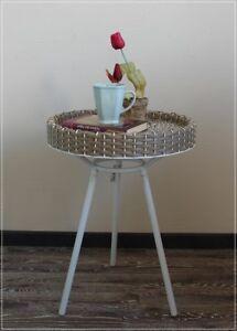 Beistelltisch Couchtisch Tablett Tisch Kunstrattan Garten Skan