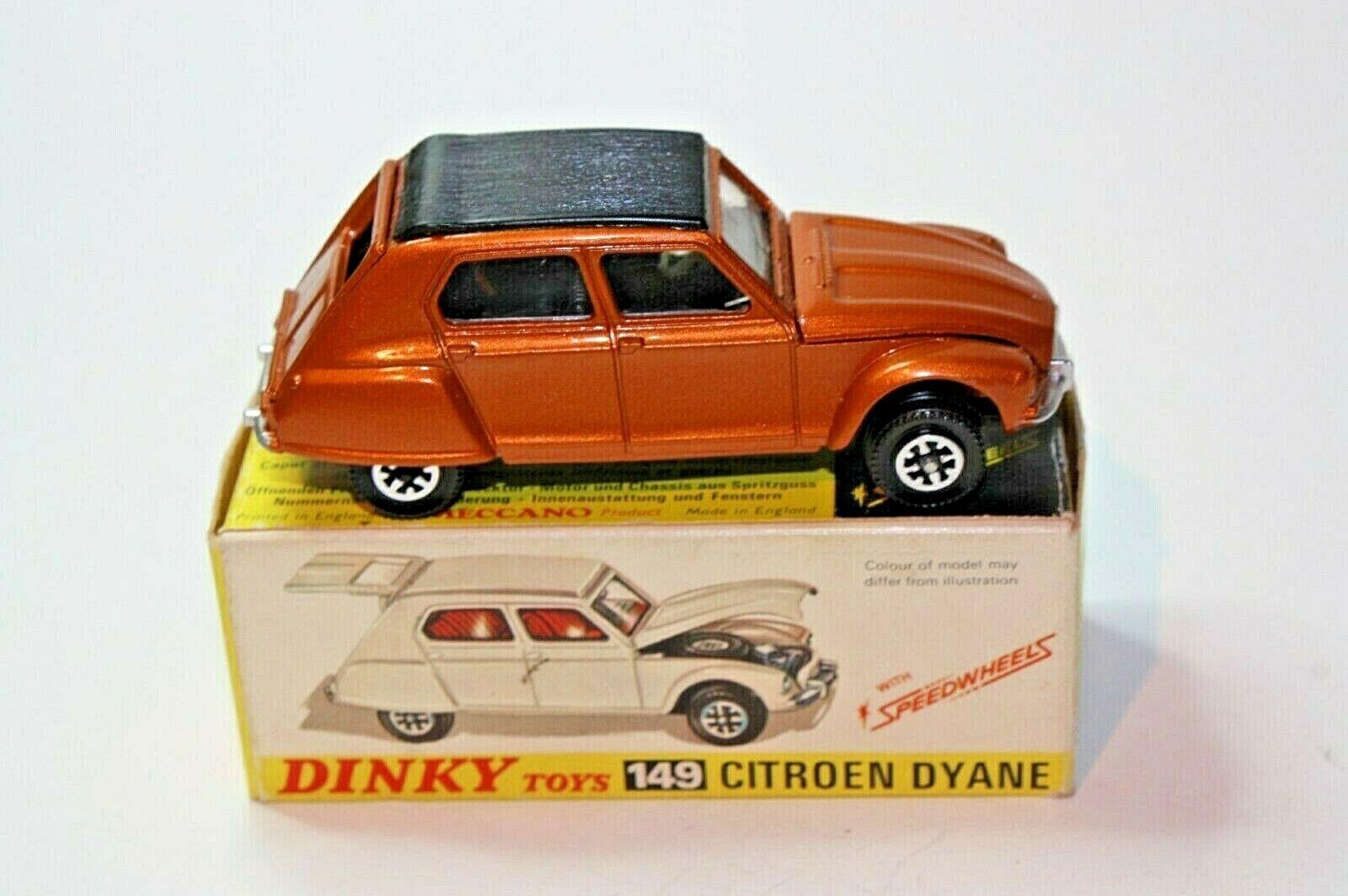 Dinky 149 Citroen Dyane, Mint Condition in Good Original Box
