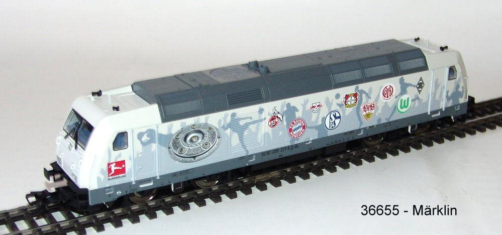 Märklin 36655 Diesel Locomotive Br 285   Bundesliga   Mfx 2