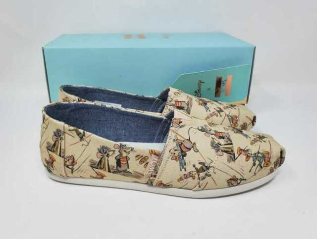 Disney Cinderella Toms Shoes Taupe Gus