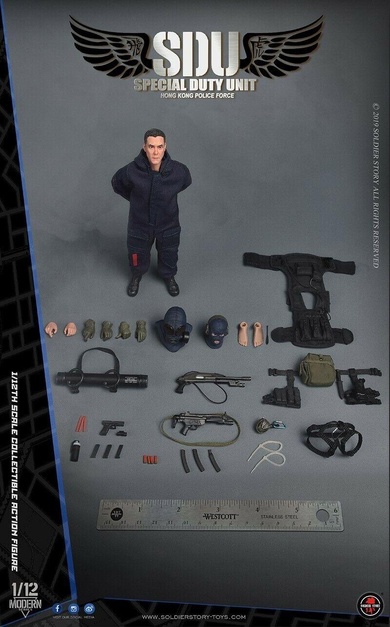 Soldier Story SSM-002 1 12th Scale HK SDU AssaultTeam Collectible Action Figure