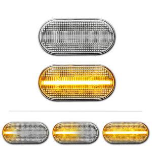WEISSE-dynamische-LED-Seitenblinker-Nissan-350Z-Micra-III-K12-Pathfinder-Qashqai