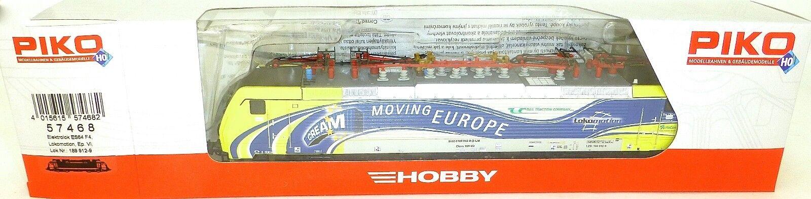 Es 64 F4 Lokomotion Cream Ellok 189 912-9 Epvi Piko 57468 H0 1 87 Neuf et