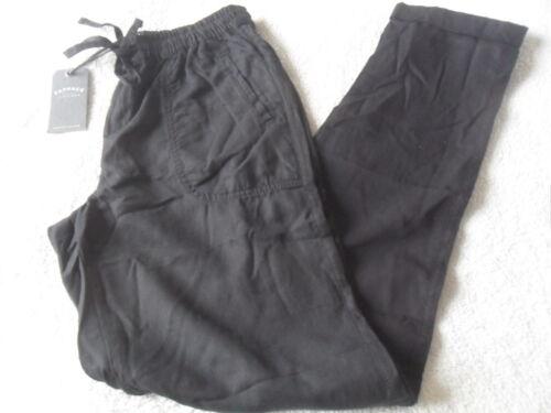 comoda vita con di 10 Tencel gamba Lyocell affusolata a Tencel Ex Pantaloni Face Pure Fat nero 8 qEUxpw