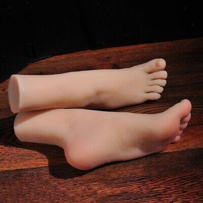 2 Stück Fuß Schaufensterpuppe künstlicher Fuß Dekobein Dekofuß