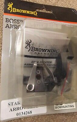 Golden Key Archery Star Hunter Arrow Rest Micro Adjust RH B112 Browning