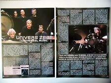 COUPURE DE PRESSE-CLIPPING :  UNIVERS ZERO [3pages]03/2010 Daniel Denis,Clivages