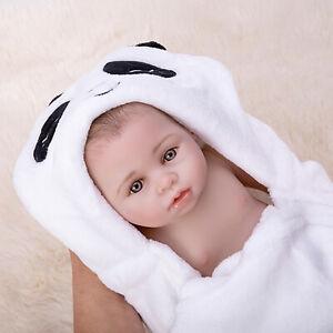 17 Cute Newborn Baby Boy Doll Realistic Full Body Vinyl Reborn Dolls Kids Gift Ebay