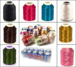 Polyester-Garn-300M-Marke-Altinbasak-Hakel-Nahgarne-Handstick-Garne-Farbauswahl
